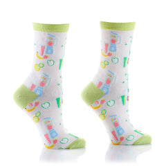Juicin Womens Crew Sox