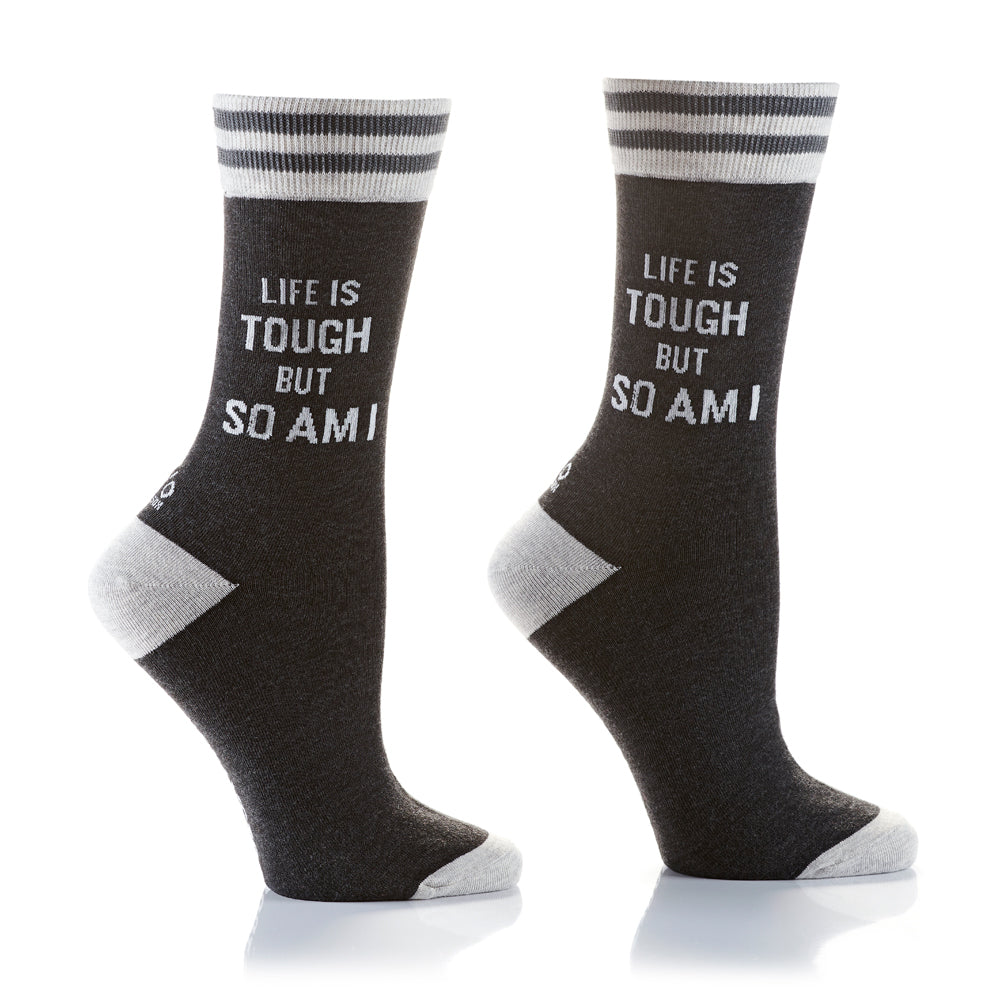 Life is Tough Womens Crew Sox