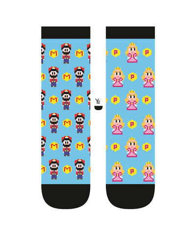 Gamer Love Womens Crew Sox