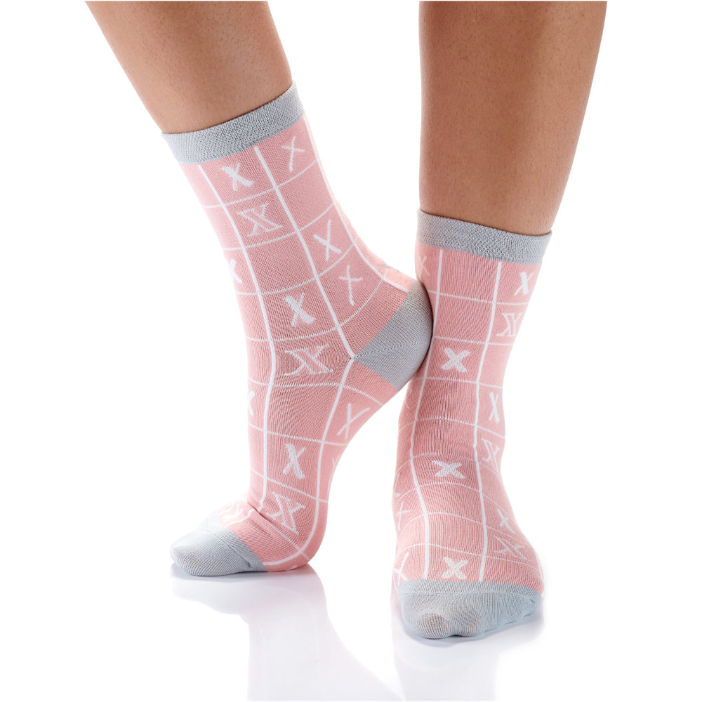Xs and Os Womens Crew Sox