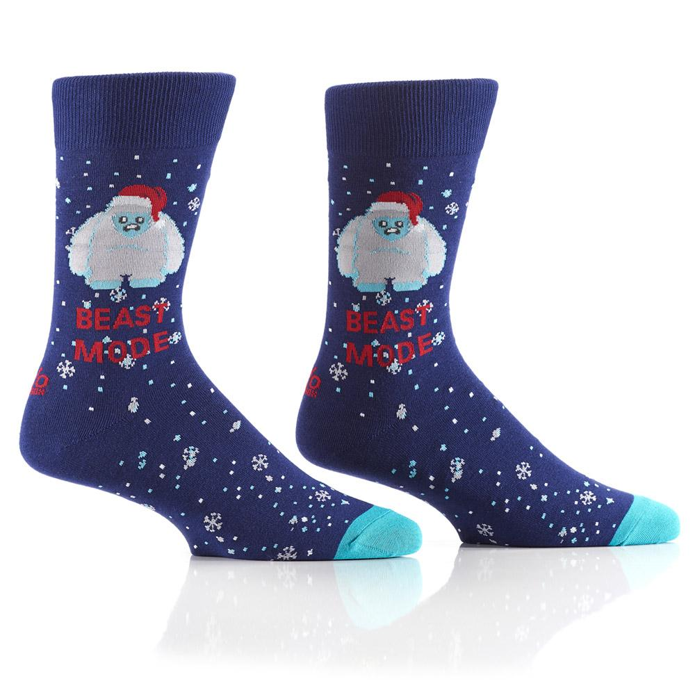 Abominable Snow Beast: Men's Crew Sock