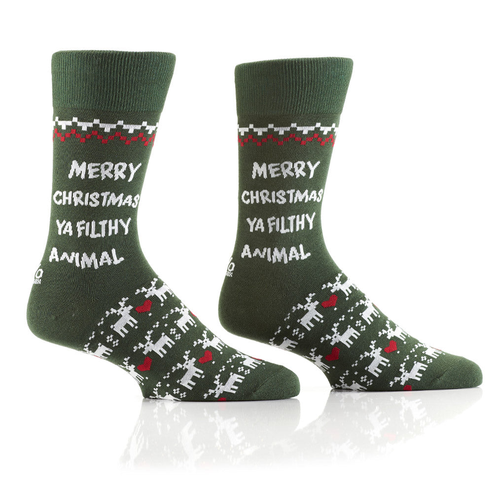 Home for the Holidays: Men's Crew Socks - Yo Sox Canada