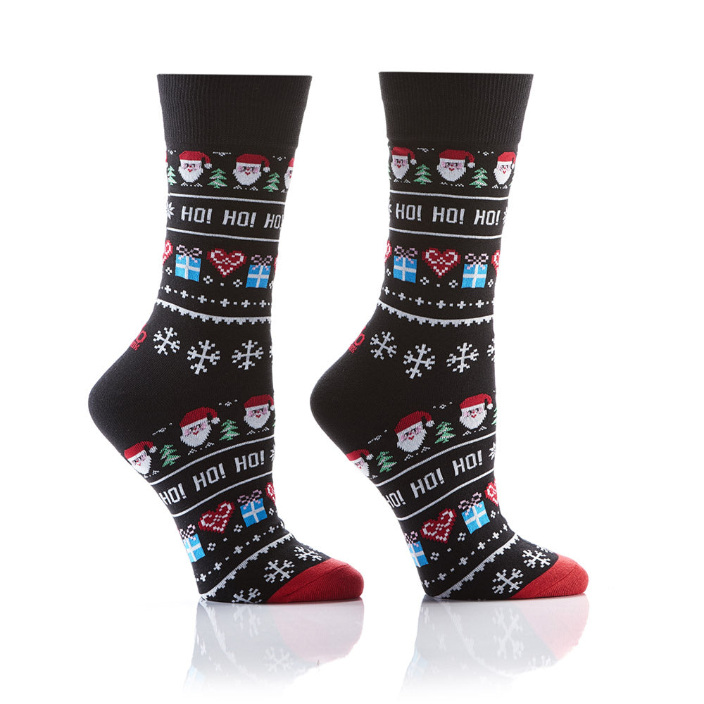 Santa's Helper: Women's Crew Socks - Yo Sox Canada