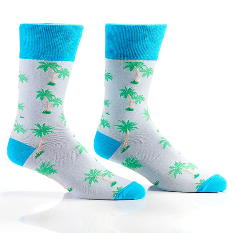 Socks - Tropical Vibes Men's Crew Socks