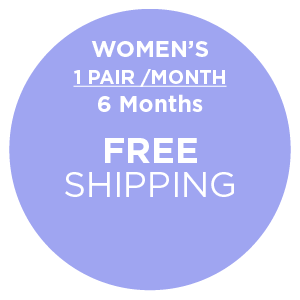 Subscription - Women's 1 Pair/Month - 6 Months