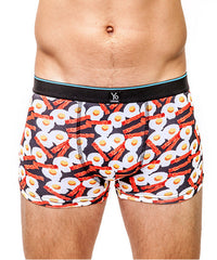 Underwear - Bacon & Eggs Men's Trunk Style Briefs