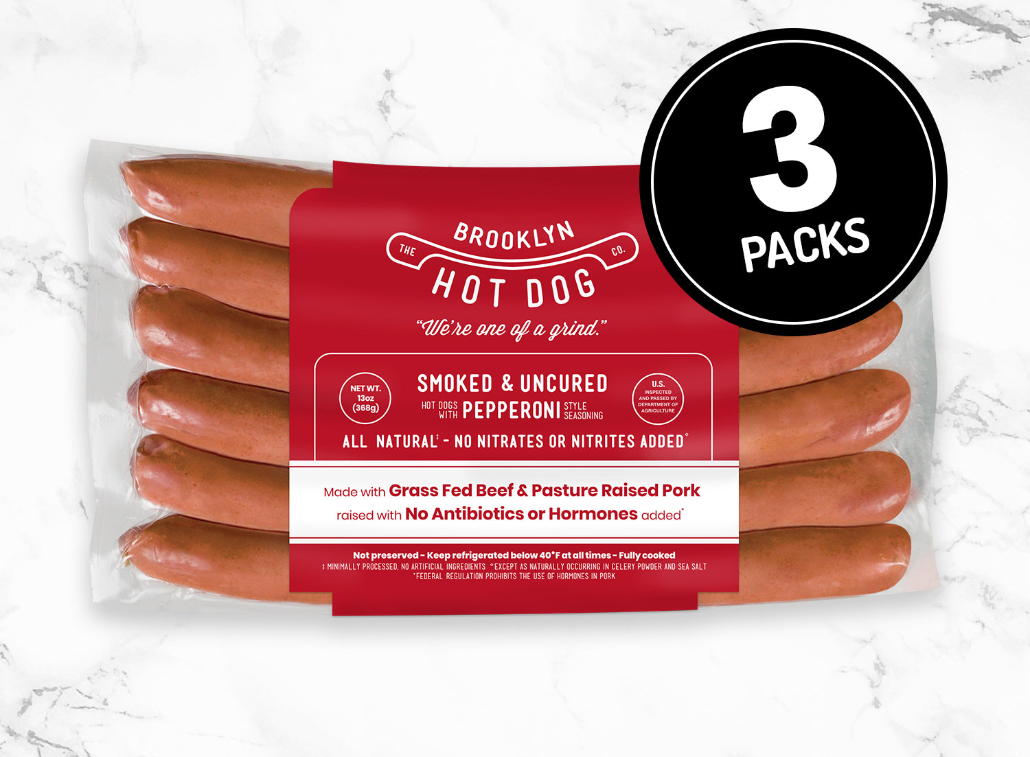 3-Packs: Pepperoni