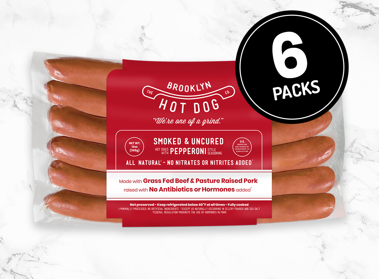 6-Packs: Pepperoni