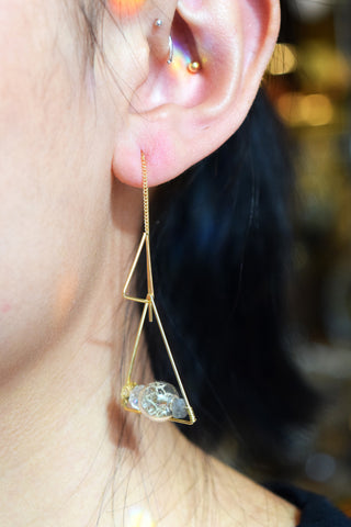 Athena Terrarium Earrings