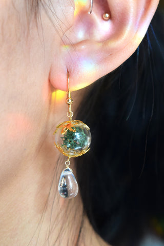 Gaia Terrarium Earrings
