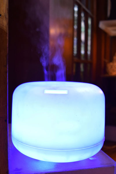 Large Light Up Essential Oil Diffuser Earth Speaks
