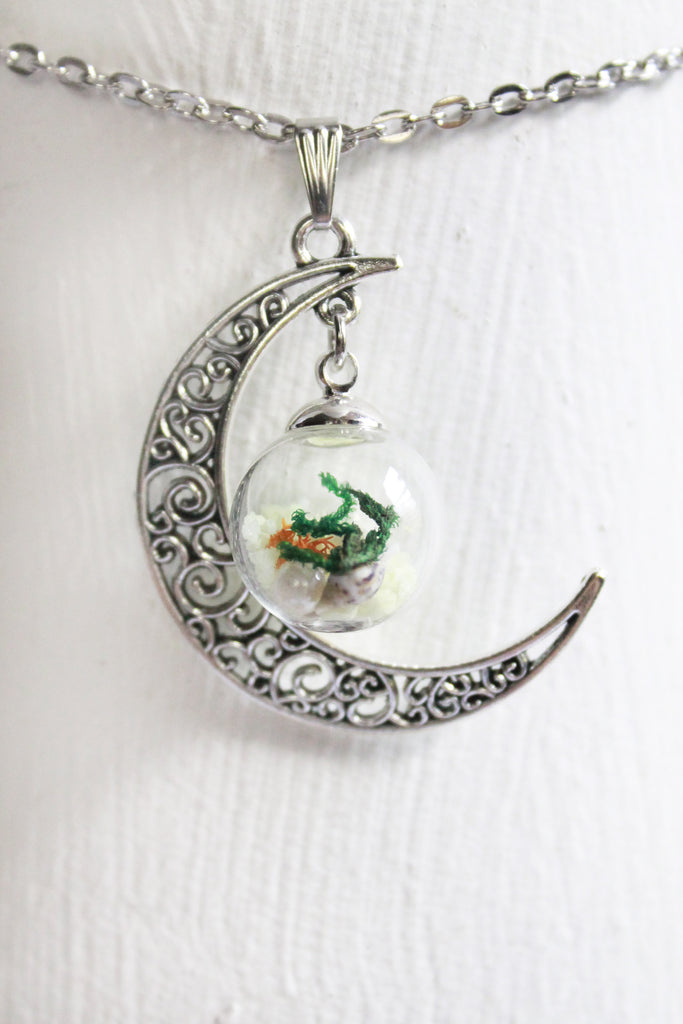 North Cascades Terrarium Necklace Earth Speaks