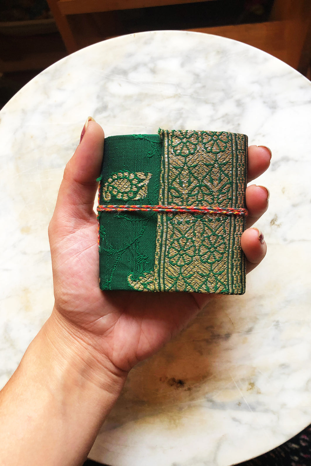 Mini Embroidered Notebook