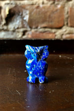 Load image into Gallery viewer, Lapis Lazuli Carved Owls