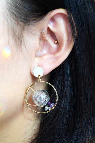 Selene Terrarium Earrings