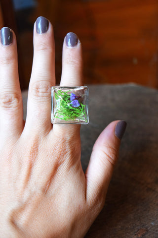 Yao Grass Terrarium Ring