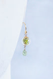 Azalea Terrarium Dangle Earrings