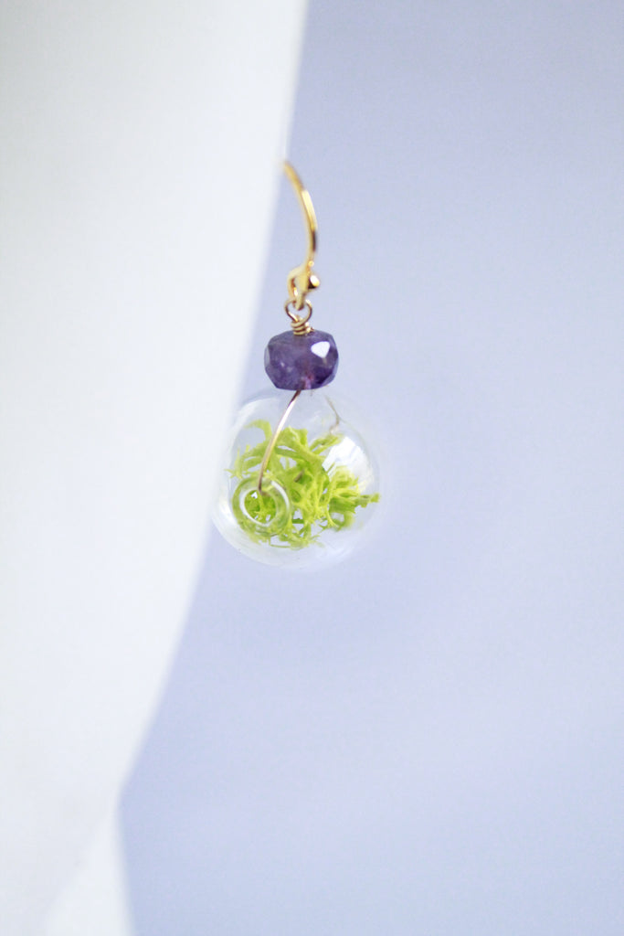 Magnolia Terrarium Earrings