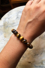Load image into Gallery viewer, Tiger's Eye Beaded Bracelet