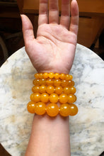 Load image into Gallery viewer, Yellow Agate Bracelet