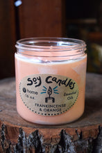 Load image into Gallery viewer, Frankincense & Orange Soy Candle