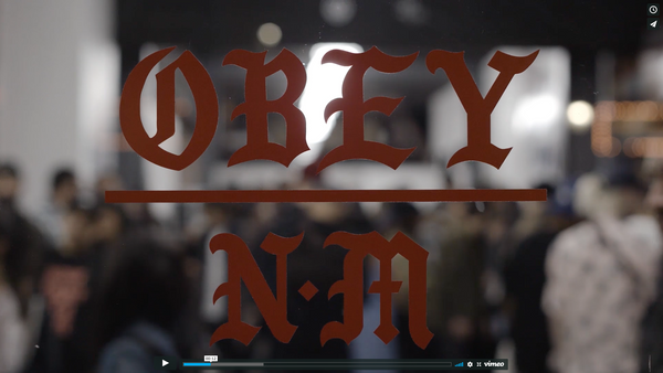 OBEY X NEVER MADE COLLAB. POP UP/ RELEASE PARTY RECAP