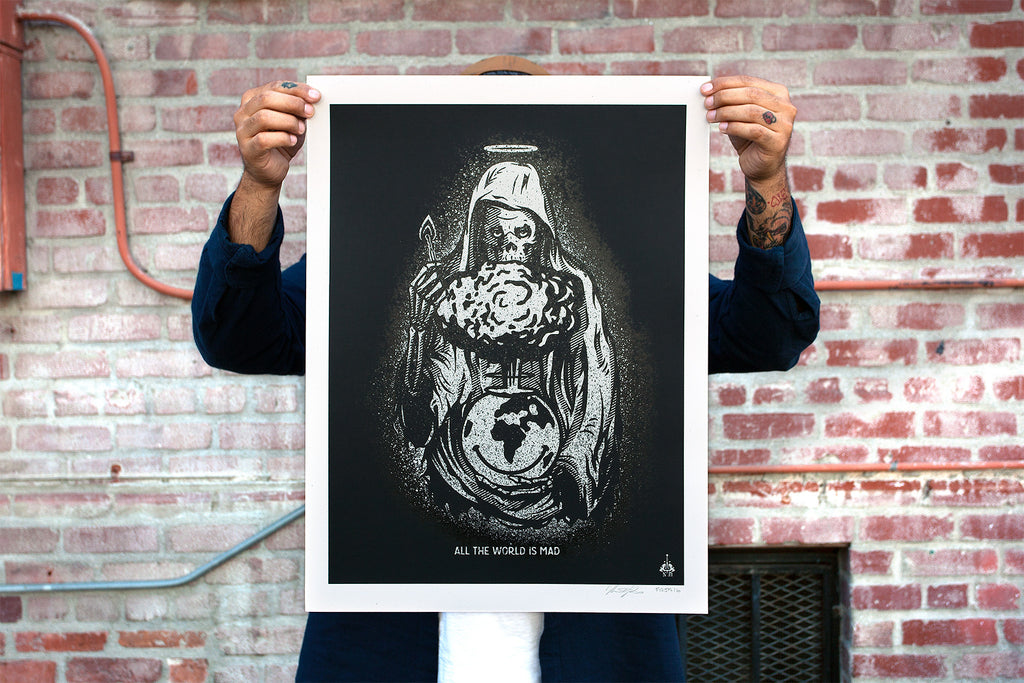 Limited Edition Screen printed poster by Never Made & VictorKoast