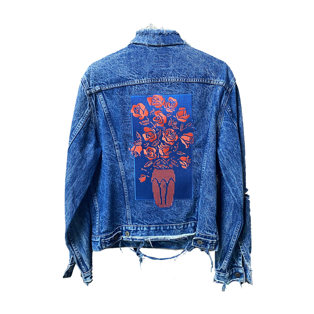 Never Made Custom Vintage Levis Jacket (Medium)