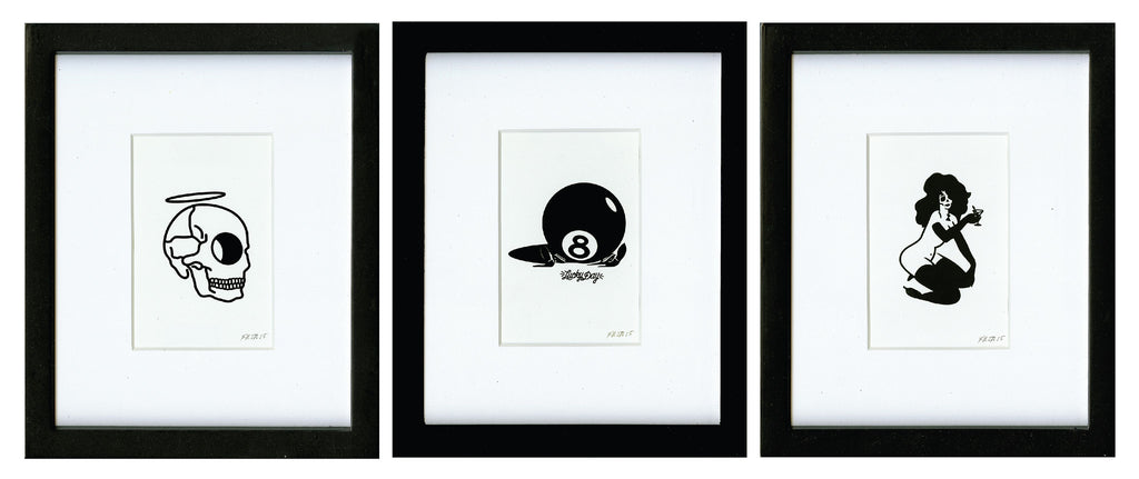 Little Icons (3 prints) | Limited Edition Art Prints | Never Made