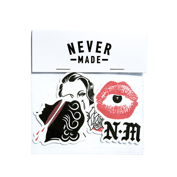 Never Made Sticker Pack | Los Angeles Graphic Artist