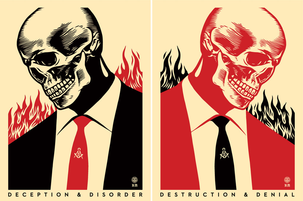 Destruction & Denial - Diptych