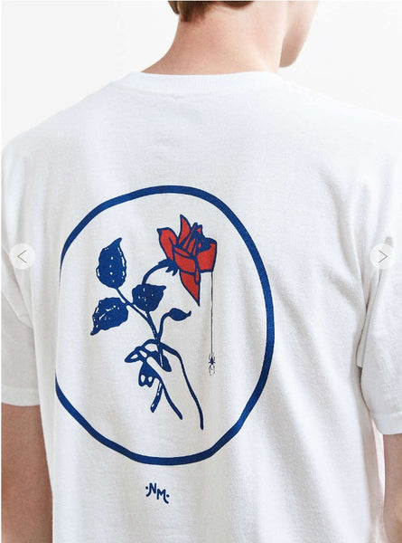 Widow Rose (T-Shirt) | Graphic Art Apparel | Never Made