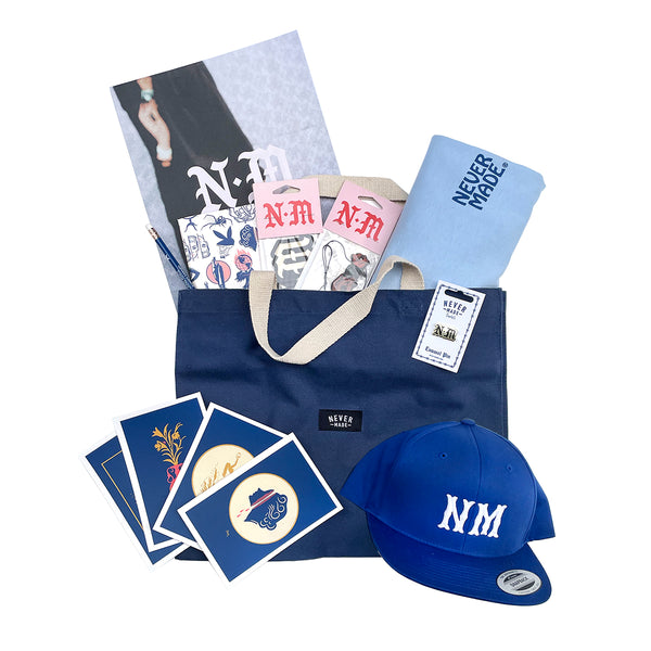 Never Made Tote Bundle - Blue