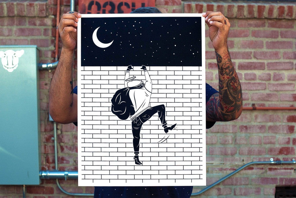 Bricksquad | Serigraph Print | Never Made Graphic Art