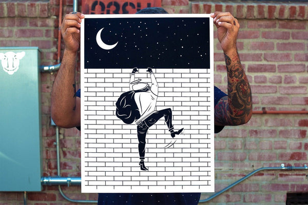 Bricksquad | Limited Edition Serigraph Print | Never Made