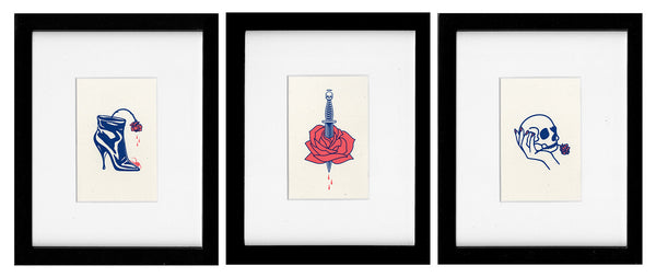La Vie En Rose (Series) | Limited Edition Art Prints | Never Made