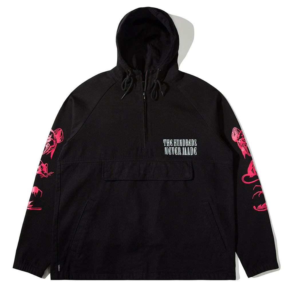 THE HUNDREDS X NEVER MADE LOLA'S ANORAK BLACK