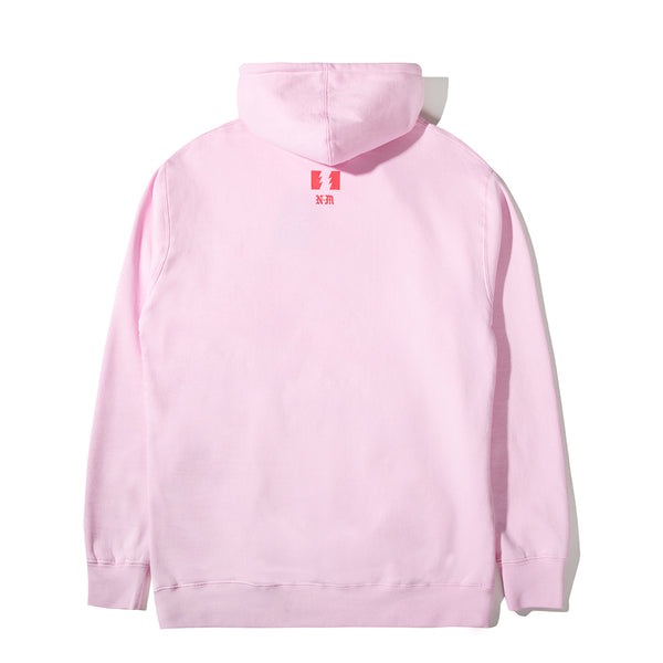 THE HUNDREDS X NEVER MADE SMASH PULLOVER PINK