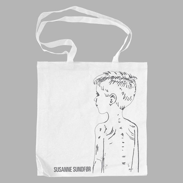 Boy White Tote Bag