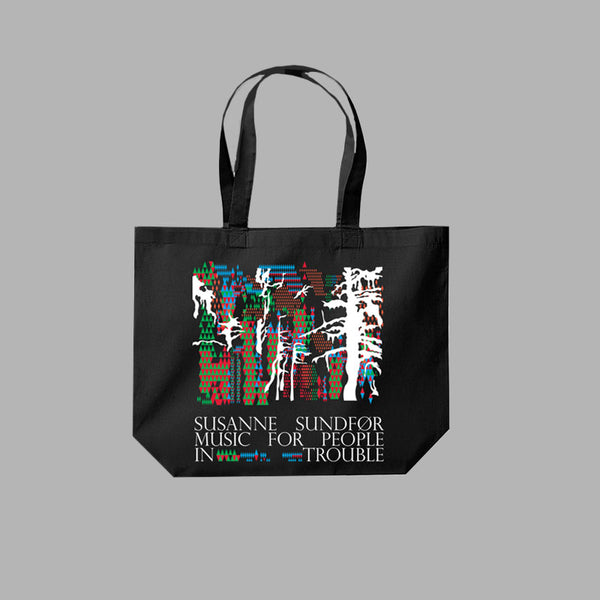 REPLICATE BLACK TOTE BAG