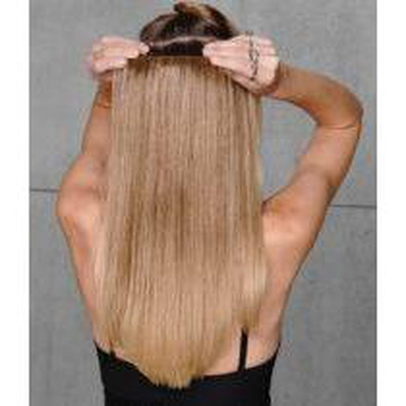 "20"" - 10 pcs Straight Human Hair Extension Kit by Hairdo - BeautyGiant USA"