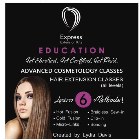 6 Methods of Hair Extensions Workshop - VIP Extensions