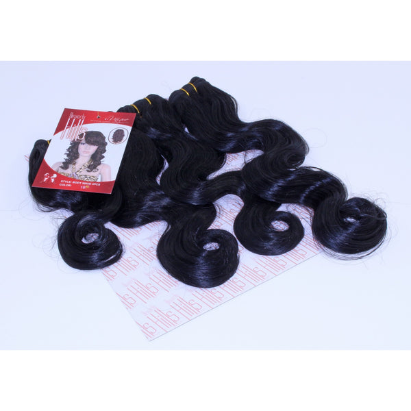 "Beverly Hills Collection Body Wave 4 PCS (8"", 10"", 12"", 14"") - BeautyGiant USA"
