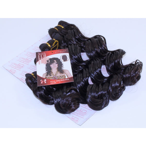 Beverly Hills Collection Deep Wave 4 Pieces (8'', 10'', 12'', 14'') - BeautyGiant USA