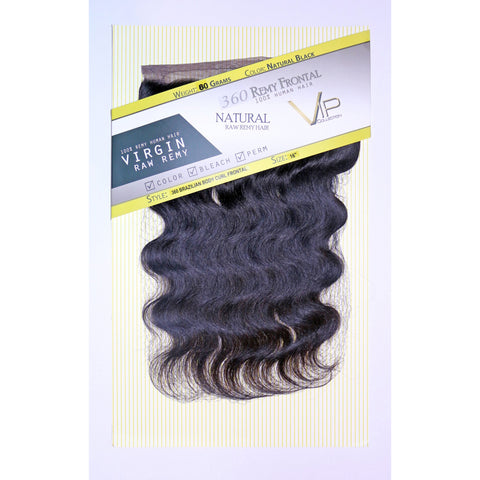 360 Lace Brazilian Body Curl Frontals/Closure - VIP Extensions