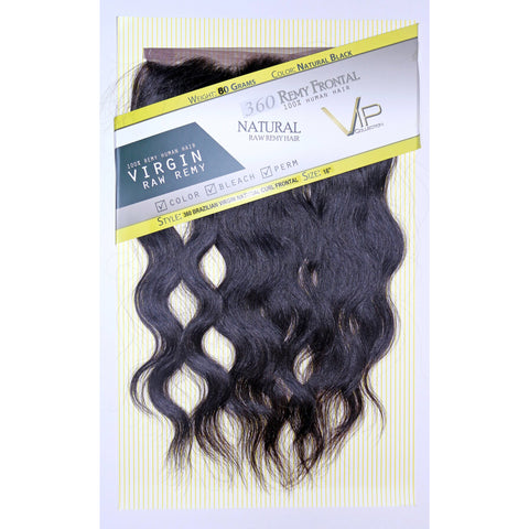 360 Brazilian Natural Curl Lace Closure/Frontals Virgin Human Hair