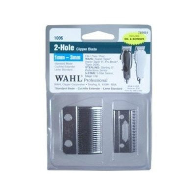 Wahl Professional 2-Hole Clipper Blade - VIP Extensions