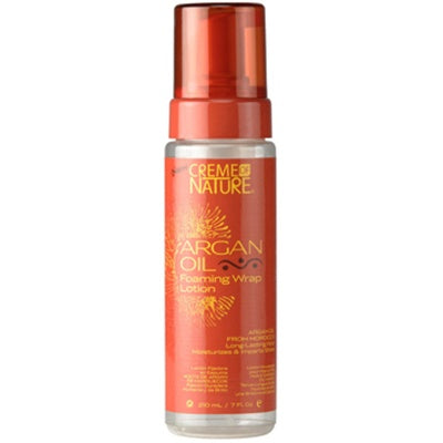 CREME OF NATURE ARGAN OIL FOAMING MOUSSE 7 OZ