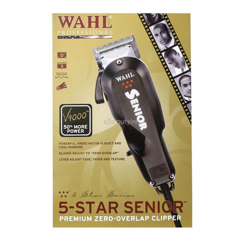 Wahl 5-Star Senior Fade & Texture Hair Clipper - VIP Extensions
