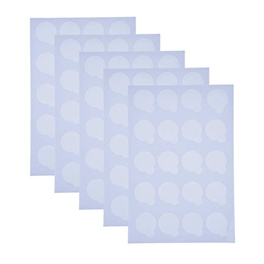 Disposable adhesive glue pallet sticker - BeautyGiant USA